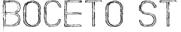 Boceto ST Font