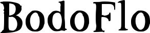 BodoFlo Font