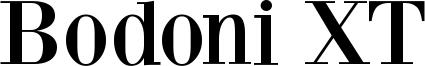 Bodoni XT Font