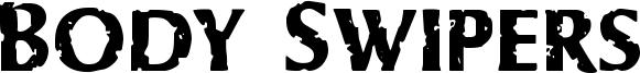 Body Swipers Font