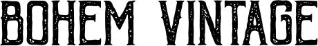 Bohem Vintage Font