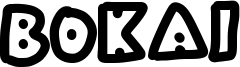 Bokai Font
