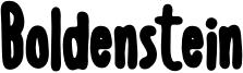 Boldenstein BLACK.otf