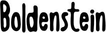 Boldenstein.otf