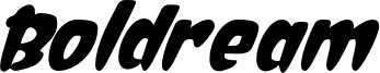 Boldream Font
