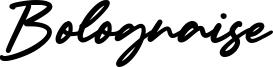 Bolognaise Font