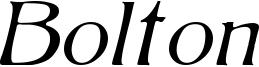 BoltonLightItalic.ttf
