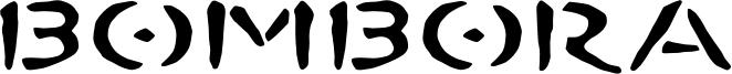 Bombora Font