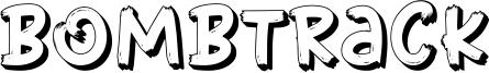 Bombtrack Font