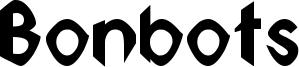 Bonbots Font