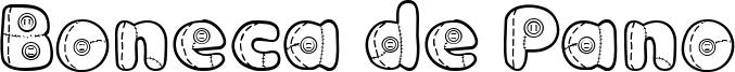 Boneca de Pano Font