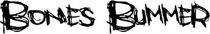 Bones Bummer Font