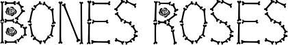 Bones Roses Font