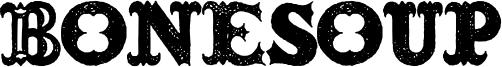 Bonesoup Font
