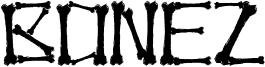 Bonez Font