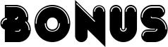 Bonus Font