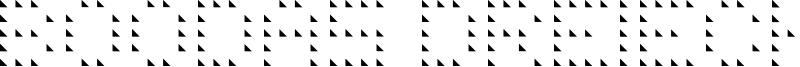 Boodas Dreiecke Font