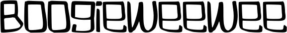 Boogieweewee Font