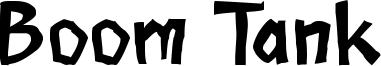 Boom Tank Font