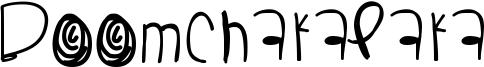Boomchakalaka Font