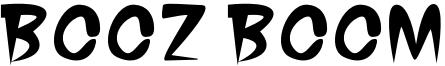 Booz Boom Font