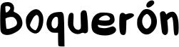 Boquerón Font