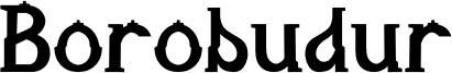 Borobudur Font