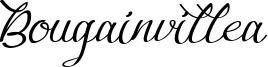 Bougainvillea Font
