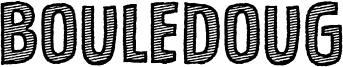 Bouledoug Font