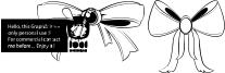 Bow Font