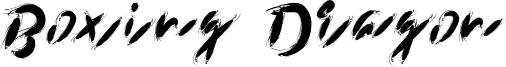 Boxing Dragon Font