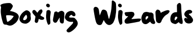Boxing Wizards Font