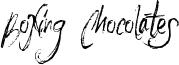 Boxing Chocolates Font