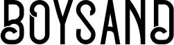 Boysand Font