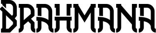 Brahmana Font