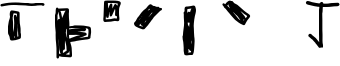 Braile 1 Font