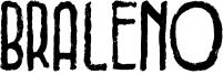 Braleno Font