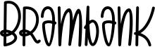 Brambank Font