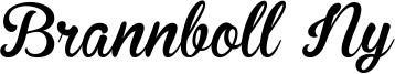 Brannboll Ny Font