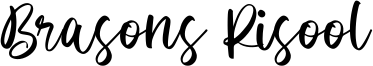 Brasons Risool Font