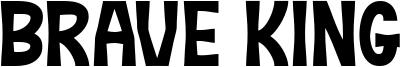 Brave King Font