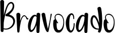 Bravocado Font