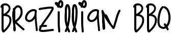 Brazillian Bbq Font