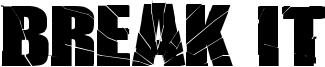 Break It Font
