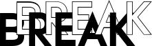 Break Font