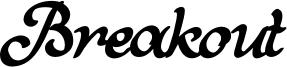 Breakout Font