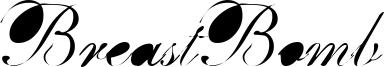 BreastBomb Font