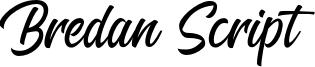 Bredan Script Font