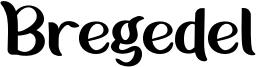 Bregedel Font