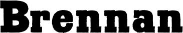 Brennan Font
